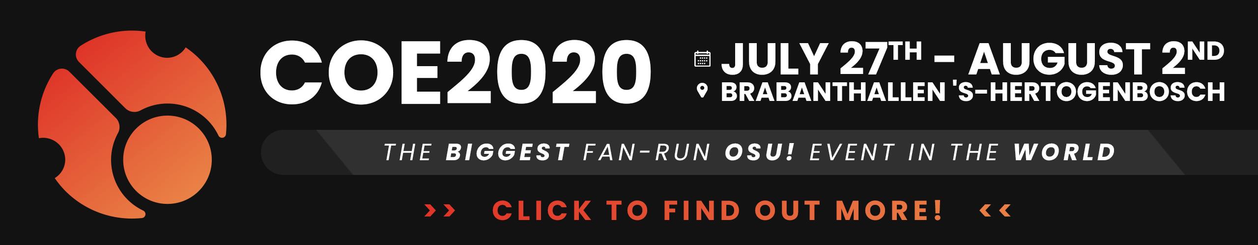 COE2020 Banner